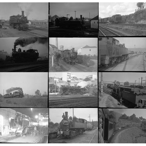 14 - Railway black & white negatives, medium format, quantity 26. A small selection of original black & w...