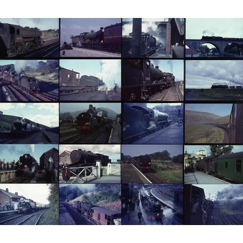 16 - Railway colour slides, 35mm, quantity 50 all original on Agfa film. A very good mix of society railt...