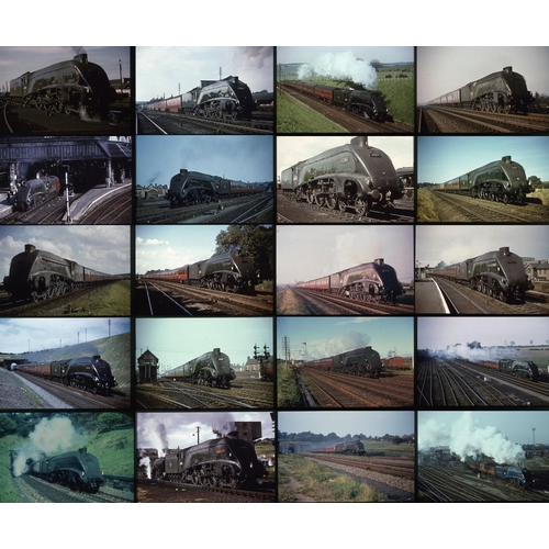 17 - Railway colour slides, 35mm, approx.100 duplicate slides. A very good lot of K.R.Photographics (Keit...