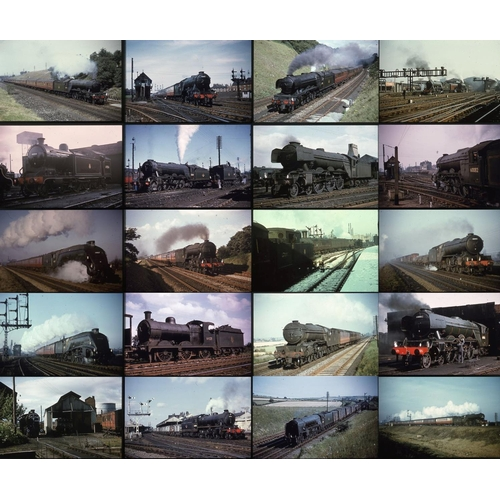 19 - Railway colour slides, 35mm, approx.50 duplicate slides. A very good lot of K.R.Photographics (Keith...