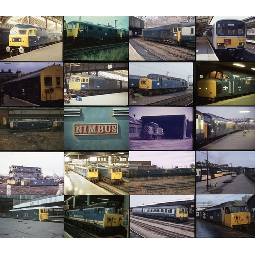 36 - Railway colour slides, 35mm approx. 170 Kodak & Agfa. Modern Traction miscellany, most taken in the ...