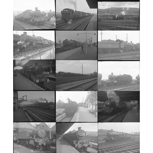 4 - Railway black & white negatives, medium format , quantity 50. A good mix of original negatives showi...