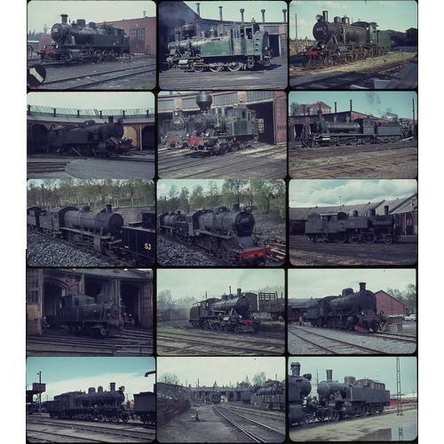 6 - Railway colour slides, 35mm, quantity 25 all original on Agfa film.  A good quality selection of sta...