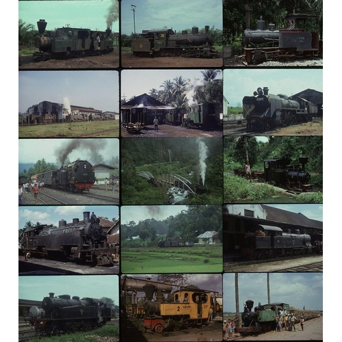 7 - Railway colour slides, 35mm, quantity 25 all original on Kodak film.  A good quality selection of na...
