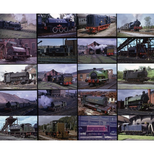 8 - Railway colour slides, 35mm, quantity 60 all original on unknown film with Gepe mounts.  A good qual...
