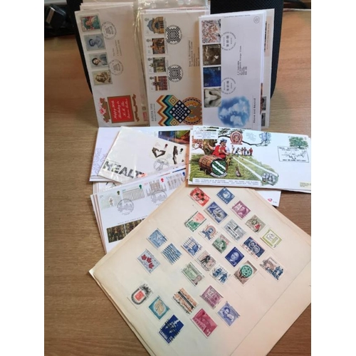 17 - Box containing Brown SB of British Commonwealth mint & used all periods, some better noted. Useful M...