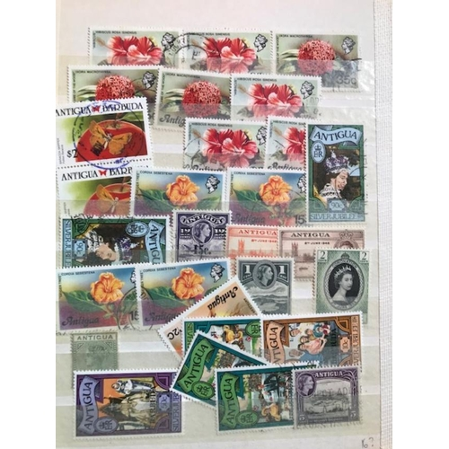 27 - British Commonwealth includes useful material with better stamps noted, including Malta, Leewards, B...