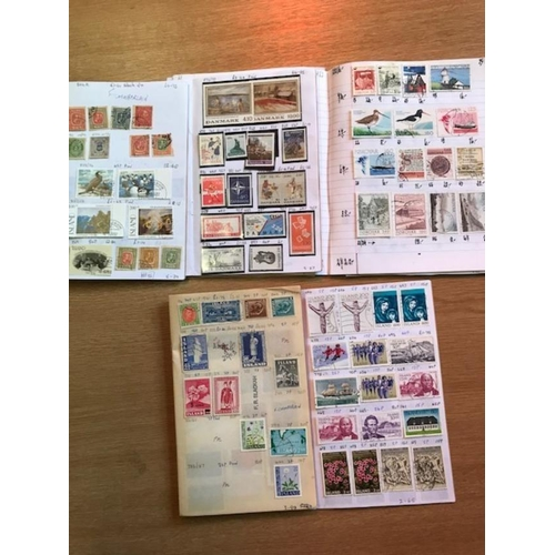 29 - Scandinavia in exercise/approval books with u & other better material. STC £1700.