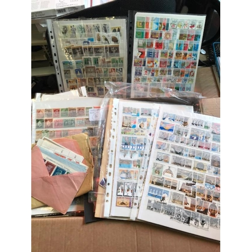 46 - World loose mainly off-paper used, but also stock-cards, packets, etc. all periods with some early, ...