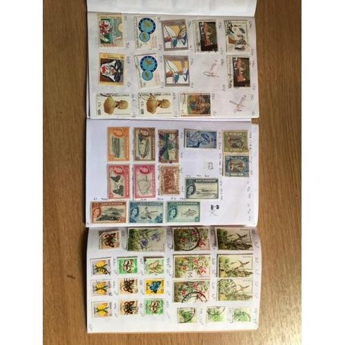 57 - British Commonwealth in 8 circulted club books. PTA around £250. (100s)