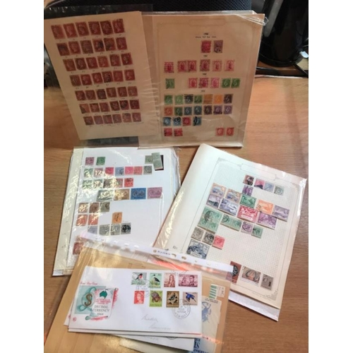 6 - Box of British Commonwealth, includes brown stock-book with good spread of countries & periods, BSA ...