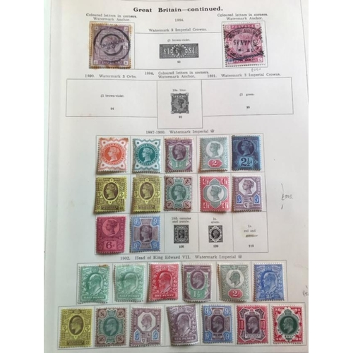8 - British Empire 1854-1921 Collection in album with a solid offering of GB, hi cat mixed condition, we...