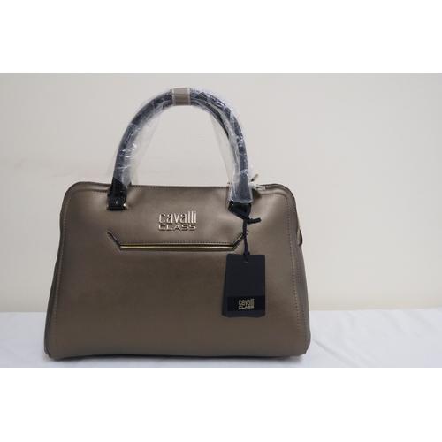 2 - Brand New Cavalli Class Bronze/Gold Women's Designer Bag - NEW in Packaging RRP £248 This Bronze/Gol...