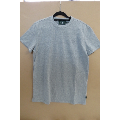 20 - Brand New Men's Beverly Hills Polo Club Light Grey T-Shirt - Size M...