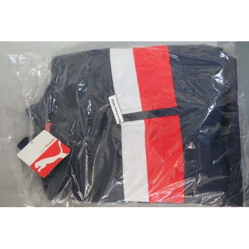 30 - Brand New Boys Puma Blue Tracksuit - Size UK 28 Pants and Jacket Size UK 30/32...