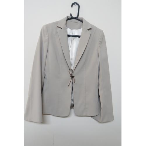 41 - Ladies Dorothy Perkins Cream Jacket - Size UK 10...