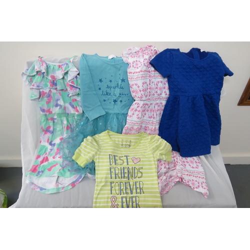 58 - Job Lot - 5 X Girls Pumpkin Patch various dresses. Ages 7, 9, 10 and 11...