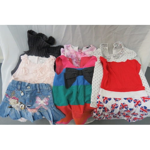 60 - Job Lot - 7 X Various Girls Clothes from John Rocha, Bluezoo, BHS, ASDA Ages 5-6, 6-7, 7...
