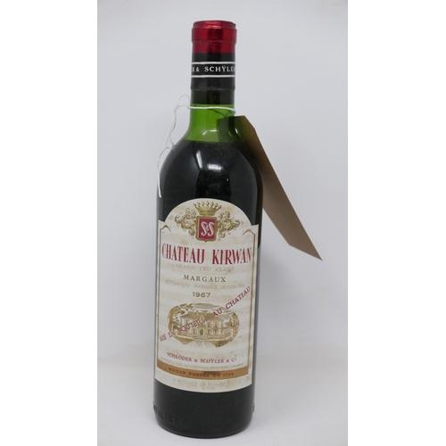 2038 - Château Kirwan, 1967, Grand Cru Classé, Margaux, 1 bottle...