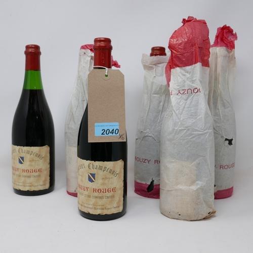 2040 - Coteaux Champenois, Bouzy Rouge, 6 bottles...