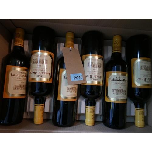 2046 - Château Lalande-Borie, 2013, Saint-Julien, 6 bottles, 75cl...