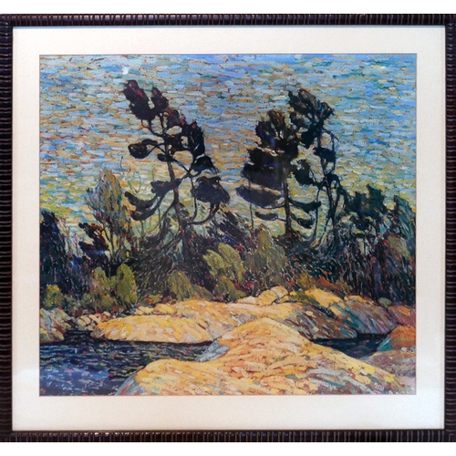 125 - After Tom Thomson, 'The Group of Seven', print, 58 x 62cm...
