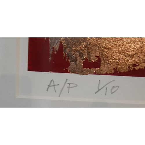 224 - Cosmo Sarsan, street artist, limited edition artist proof screen print 1/10, 'Break dancing Jesus - ...