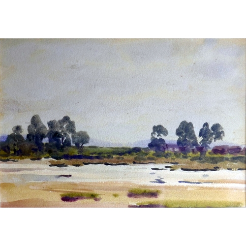 77 - Frank Richards R.B.A. (British, Exh. 1883-1925), 'Ocknell Pond, Fritham, near Cadnam, Hants', waterc...