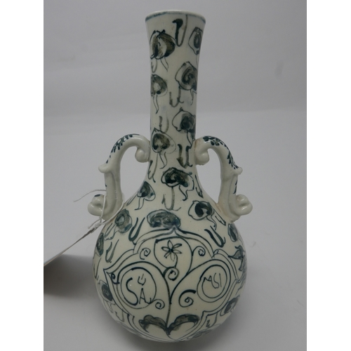 64 - A 20th century Chinese style vase, H.23cm...