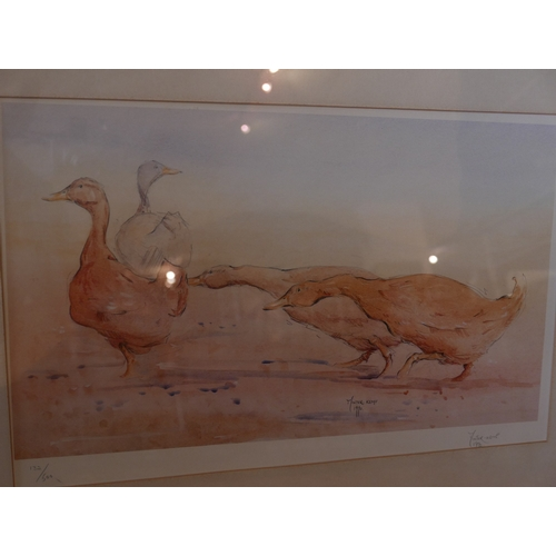41 - C. Minter-Kemp (British) framed and glazed, signed Limited Edition print of geese, 132/500, signed i...