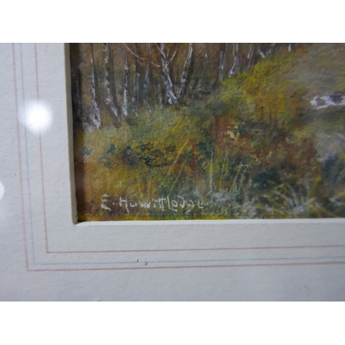 286 - Early 20th century school, The Hunt, watercolour and gouache, signed and dated '12 to lower left, in...