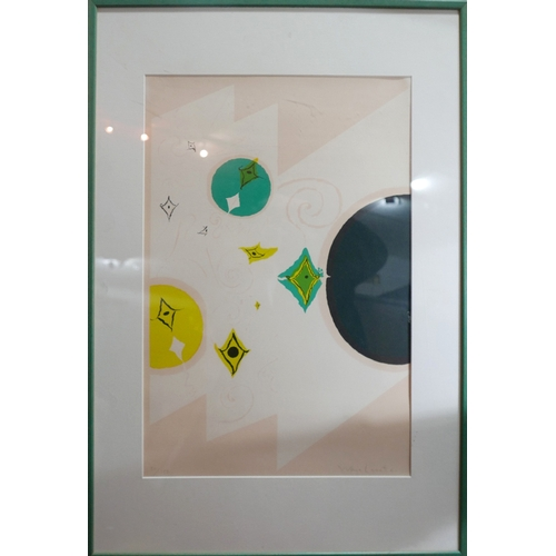 29 - Warja Lavater (swiss 1913-2007), a limited edition screen print, signed and numbered 30/150 in penci...