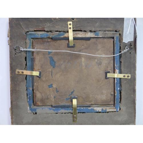 2031 - John Crome the Elder, (British 1768-1821) 'Maritime Harbour Study', oil on panel, H.15.5cm W.18.5cm...