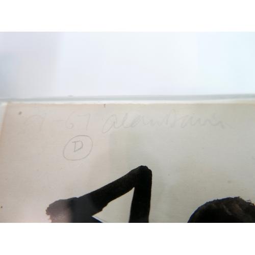 14 - Alan Davie (British, 1920-2014), Opus D.9-67, 1967, gouache on paper, signed in pencil upper left, H...