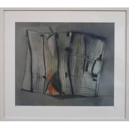 60 - David Blackburn (British, born 1939), Trees, Late Evening Light, abstract study, pastel drawing, sig...