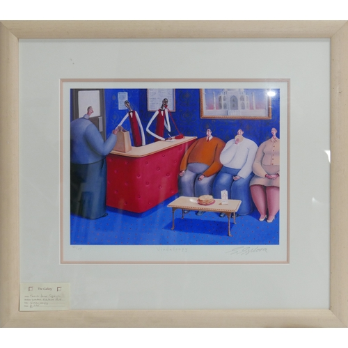 52 - Sarah Jane Szikora, Vindaloopy, lithograph, titled and signed in pencil to lower margin, numbered 16...