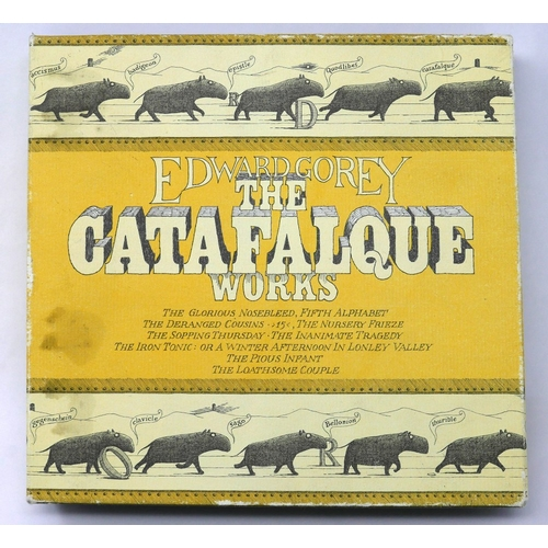 1 - Edward Gorey, The Catafalque Works, 9 volumes comprising 8 volumes of some of Gorey's best works: Th...