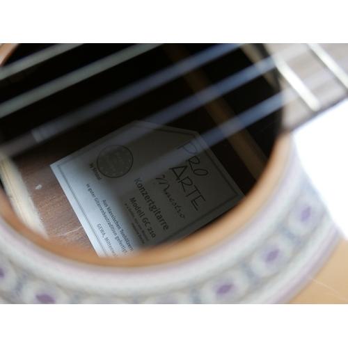 100 - A German Pro Arte Maestro GC 210 acoustic guitar