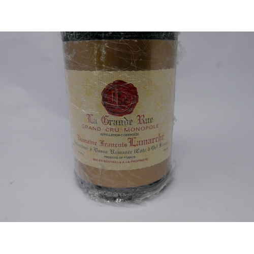 22 - A bottle of La Grand Rue, Francois Lamarche, Grand Cru Monopole, 1996...