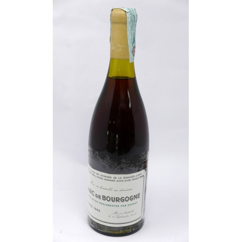 26 - A bottle of Domain Romanee Conti Marc de Bourgogne 1988, bottled in 2006...