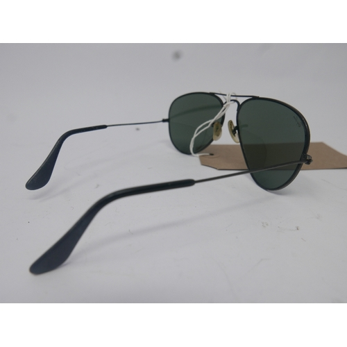26 - A cased pair of vintage, Ray-Ban sunglasses...