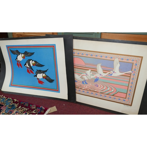 49 - Tass Bell, five bird prints, pencil signed, numbered. (5)...