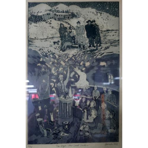 9 - Chris Orr (British, b.1943), 'Chris Orr's John Ruskin, History is a Dead Liberty', a set of 10 etchi...