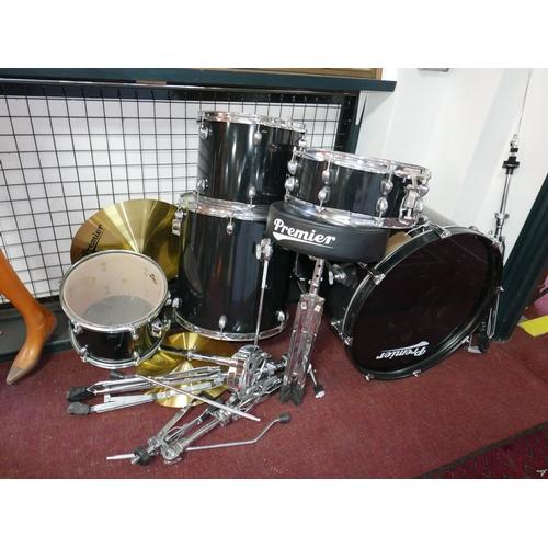 73 - A 'Premier' drum kit...