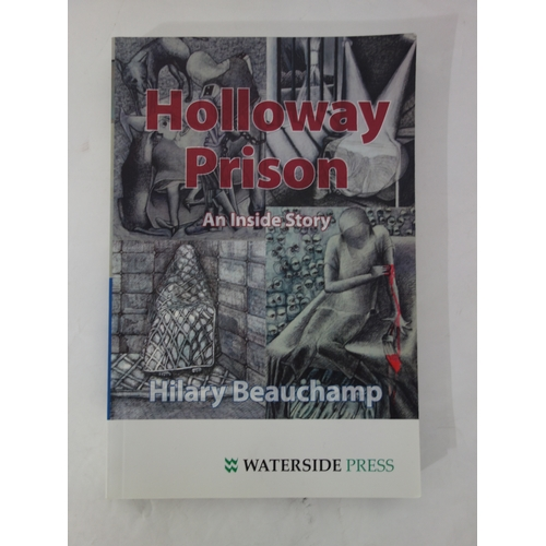 135 - Hilary Beauchamp MBE (Contemporary British), 'Voyeurism', illustration from Holloway Prison series, ...