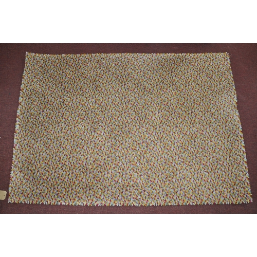 171 - A John Lewis rug with multi beans design, 170 x 116cm...