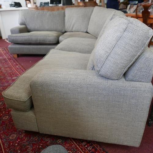 181 - A Collins & Hayes corner sofa...