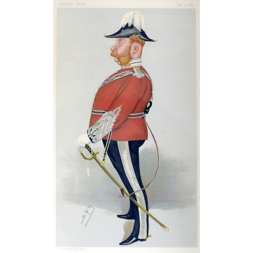 66 - A set of eight Vanity Fair prints, comprising Spy and others, to include 'Soldier Three', 'Horses', ...