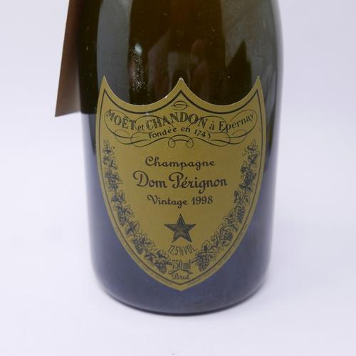 197 - A bottle of 1998 Dom Perignon champagne...