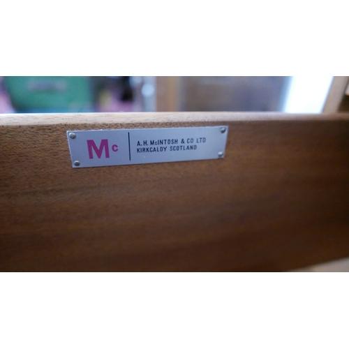 147 - A mid 20th century Danish teak sideboard, H.76 W.153 D.48cm...